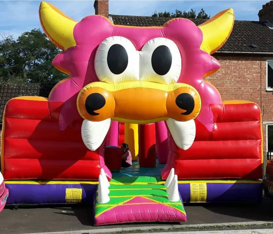 Dragons Lair Bouncy Castle