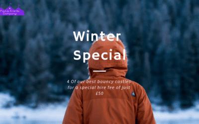 Winter Special Bouncy Castle Hire