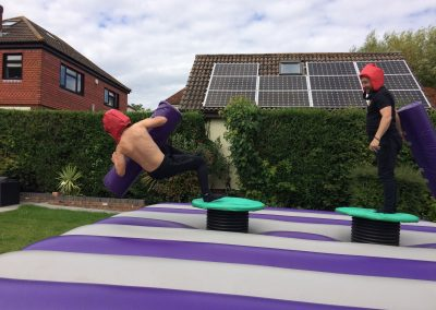 inflatable gladiator duelling platform