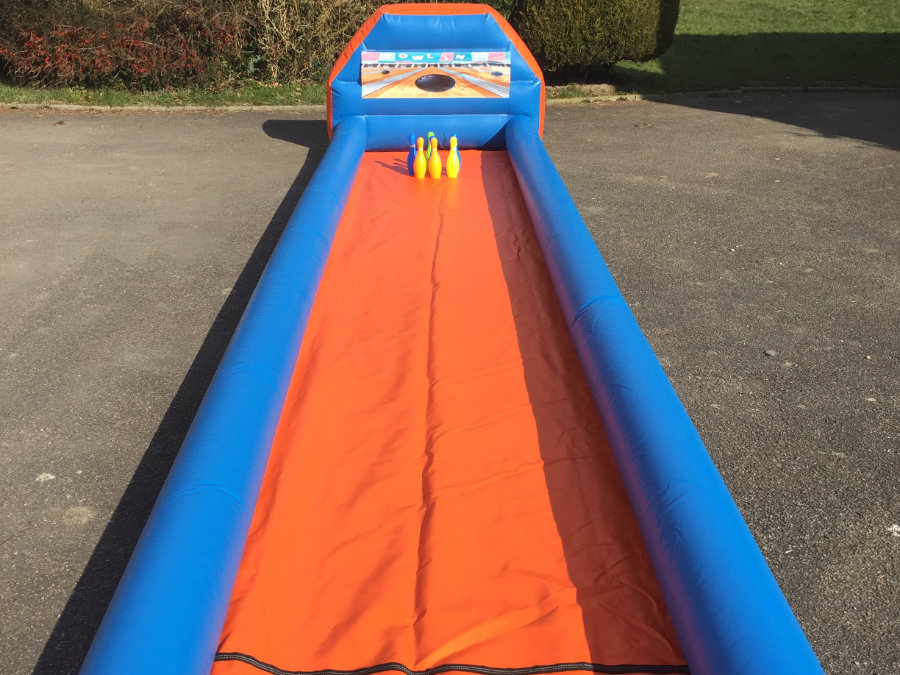 Inflatable Ten Pin Bowling Alley