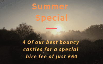 Summer Bouncy Castle Hire Offer